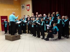 40 choristes ont participé à ce concert orchestré par Bernard Durey, chef de chœur. Ph Michel SOOKHOO